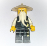Lego Ninjago Movie Sensei Wu 2011 golden weapons minifigure @sold@